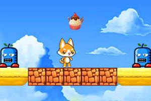 小狐狸吃雪糕