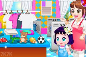 《宝贝帮忙洗衣服》截图4