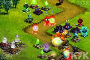 《星際塔防戰中文版》游戲畫面2