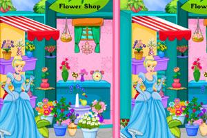 灰姑娘花店找不同