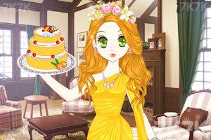 《森迪公主的母亲节蛋糕》游戏画面1