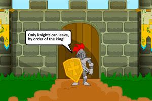 《逃离城堡高墙》游戏画面1
