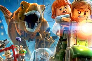 《乐高侏罗纪拼图》游戏画面1