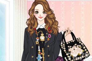 《绣花裙装》游戏画面3