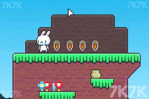 《萌兔爱吃胡萝卜》游戏画面1