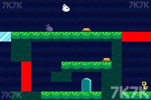 《分身兔大冒险》游戏画面1
