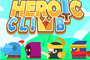 《跳跃的英雄》游戏画面1