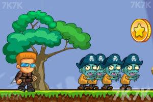 《海盗僵尸杀杀杀》游戏画面2