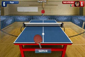 《乒乓球挑戰大賽》游戲畫面1