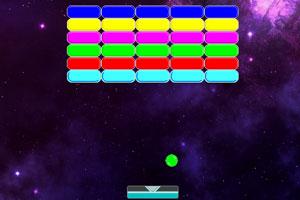 《弹球打小砖块》游戏画面1