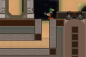 鸭子逃离外星球