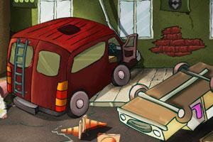 《逃离公交车相撞现场》游戏画面1