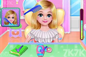 《宝贝的美发沙龙》游戏画面2