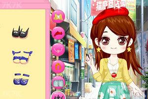 《小颖的可爱包包装扮》游戏画面2