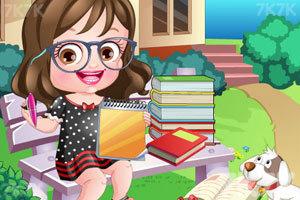 《可爱宝贝当作家》游戏画面3