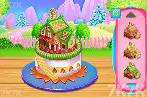 《娃娃屋蛋糕烹饪》游戏画面1
