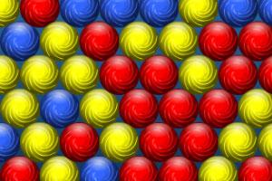《降落的彩虹球》游戏画面1