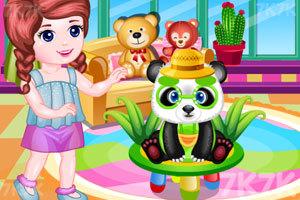 《照顾宠物熊猫》游戏画面1