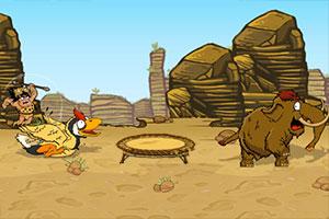 《穴居人狩猎》游戏画面1