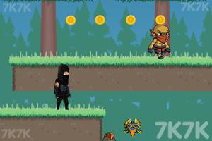 《黑衣忍者》游戏画面2