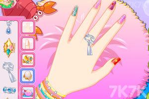 《人鱼公主美甲小铺》游戏画面1