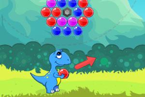 《恐龙泡泡龙》游戏画面1