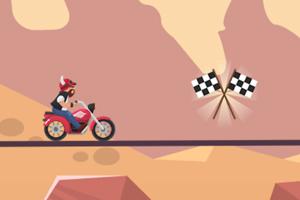 《摩托车赛道》游戏画面1