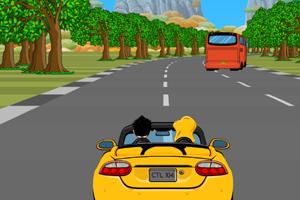 《疯狂赛道飞车》游戏画面1