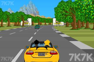 《疯狂赛道飞车》游戏画面2