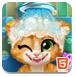 生锈的小猫洗澡