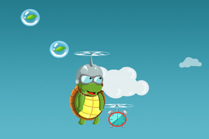 飞翔的乌龟
