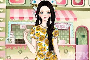 《淑女碎花裙》游戏画面2