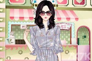 《淑女碎花裙》游戏画面3