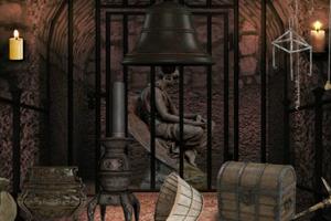 《你能逃出城堡监狱吗》游戏画面1