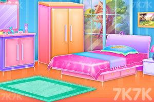 《双胞胎女孩房间清洁》游戏画面2