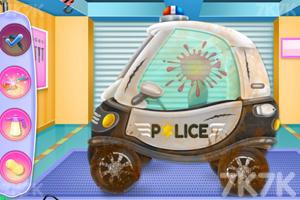 《迷你警车清洗》游戏画面1