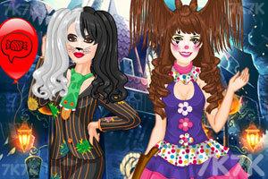 《女孩万圣节的发型》游戏画面1