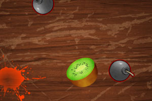 《乱刀切水果》游戏画面1