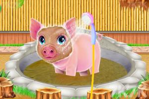《小猪温泉度假村》游戏画面1