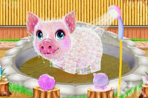 《小猪温泉度假村》游戏画面3