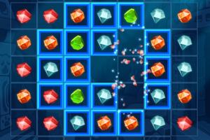 《寺庙珠宝对对碰》游戏画面1