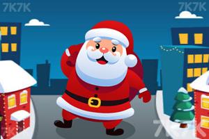 《圣诞老人酷跑》游戏画面1
