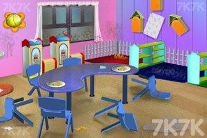 《幼儿园清洁》游戏画面3