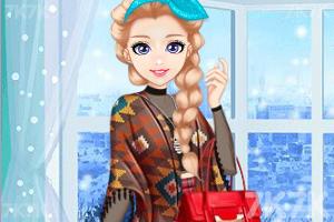 《时尚奥莉的甜美秋装》游戏画面1