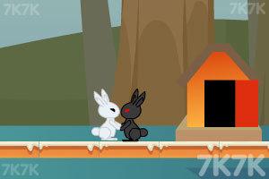 《小白兔回家》游戏画面1
