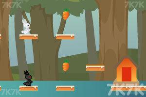 《小白兔回家》游戏画面2