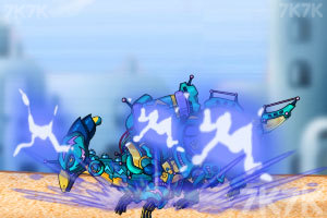 《组装闪电雷龙2》游戏画面3