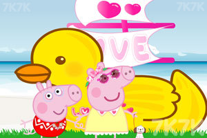《粉红猪的船》截图1