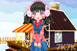 《小萝莉的雪景照》游戏画面3