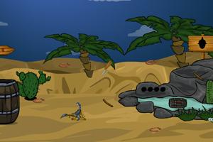《逃脱神秘的沙漠》游戏画面1